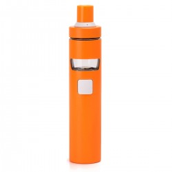Authentic Joyetech EGo AIO D22 1500mAh Starter Kit - Orange, Stainless Steel, 22mm Diameter