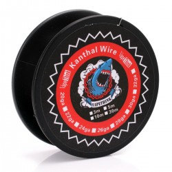 Authentic VapeThink Kanthal A1 30GA Heating Wire for RBA Atomizer - Silver, 0.25mm, 30m (100 Feet)