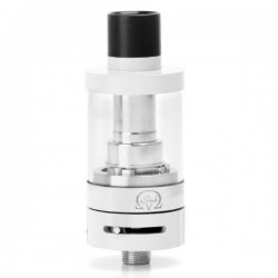 Authentic Innokin iSub V Sub Ohm Tank Clearomizer - White, Stainless Steel, 3ml, 0.5 Ohm