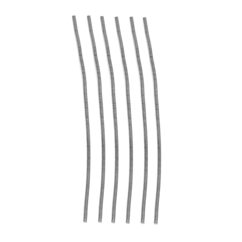 authentic advken mortal wire 6 pcs kanthal a1 fancy coil