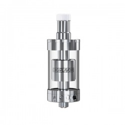 Pre-order Authentic Digiflavor Siren GTA MTL Tank Atomizer - Silver, Stainless Steel, 4ml, 22mm Diameter