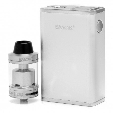 Authentic SMOKTech SMOK Micro One 150 Kit R150 1900mAh TC VW Mod + Minos Tank - Silver, 6~150W, 2.5ml, 25mm Diameter