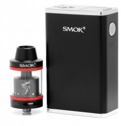 Authentic SMOKTech SMOK Micro One 150 R150 Minos TC VW Kit w/ Minos Tank - Black, 6~150W, 2.5ml, 25mm Diameter