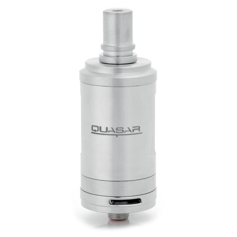 Quasar T Style Rta 3ml 23mm Silver Rebuildable Tank Atomizer