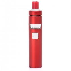 Authentic Joyetech EGo AIO D22 1500mAh Starter Kit - Red, Stainless Steel, 22mm Diameter