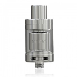 Authentic Eleaf OPPO RTA Rebuildable Tank Atomizer - Silver, Stainless Steel, 2ml, 22mm Diameter