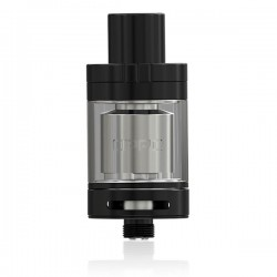 Authentic Eleaf OPPO RTA Rebuildable Tank Atomizer - Black, Stainless Steel, 2ml, 22mm Diameter