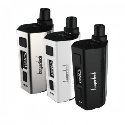 Authentic Kanger CUPTI-2 80W VW Variable Wattage Starter Kit - Silver, Zinc Alloy, 5~80W, 2 x 18650