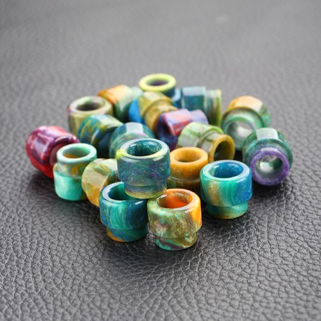 Wide Bore Drip Tip for Twisted Messes RDA - Random Color, Epoxy Resin, 13mm