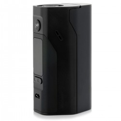 Authentic Wismec Reuleaux RX 2/3 150W / 200W TC VW APV Box Mod - Black, 1~150W / 200W, 2 / 3 x 18650