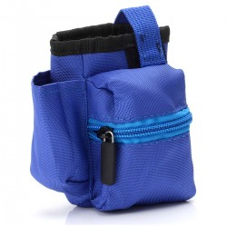 Authentic Advken Vapor Carrying Pouch Bag V1 for Electronic Cigarettes - Blue, Polyester