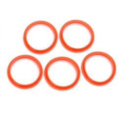 Authentic SMOKTech SMOK Top Seal Ring for TFV8 Cloud Beast Atomizer - Orange, Silicone (5 PCS)