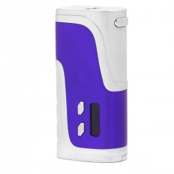 Authentic Pioneer4you iPV400 200W TC VW Variable Wattage Box Mod - Purple, Aluminum Alloy, 10~200W, 2 x 18650