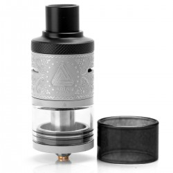Authentic IJOY Limitless RDTA Plus Rebuildable Dripping Tank Atomizer - Silver, Stainless Steel, 6.3ml, 25mm Diameter