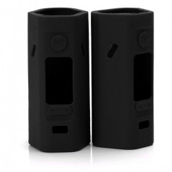 Authentic Vapesoon Protective Silicone Case Sleeve for Wismec Reuleaux RX2/3 Mod - Black (2 PCS)