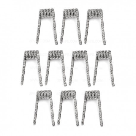 Authentic Demon Killer Alien V2 Coil + Allen Key Kit - Silver, Kanthal A1 + 316L Stainless Steel, 0.25 Ohm (10 PCS)