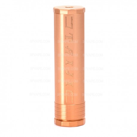 Taiji Style Mechanical Mod - Copper, Copper, 1 x 18650