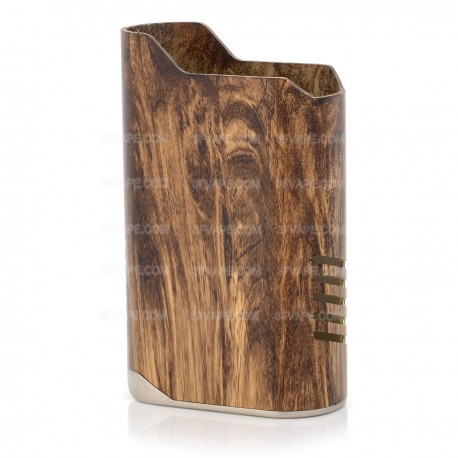Authentic IJOY Limitless Lux 215W Mod Replacement Sleeve - Wood Grain, Aluminum