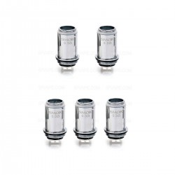 Authentic SMOKTech SMOK Vape Pen 22 Replacement Coil Heads - Silver, 0.3 Ohm (5 PCS)