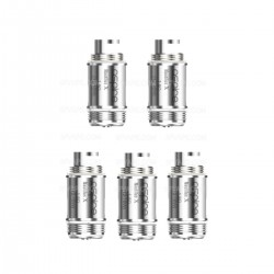 Authentic Aspire Nautilus X U-Tech Coils - Silver, Stainless Steel, 1.8 Ohm (12~16W) (5 PCS)
