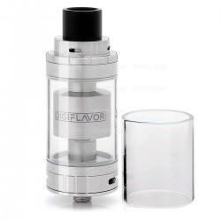 Authentic Digiflavor Fuji GTA Dual Coil Version Atomizer - Silver, Stainless Steel, 5.5ml, 25mm Diameter