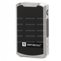 Authentic Vaporesso TAROT PRO 160W TC VW Variable Wattage Box Mod - Silver, 5~160W, 140~315'C / 280~600'F, 2 x 18650