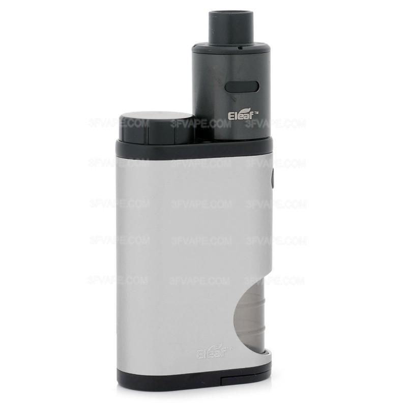 Authentic Eleaf Pico Squeeze 50W 18650 Silver Kit w/ Coral RDA