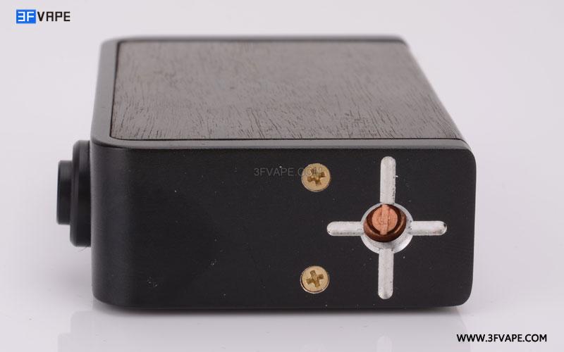 Delight Joker Ebony Wooden Mechanical Box Mod