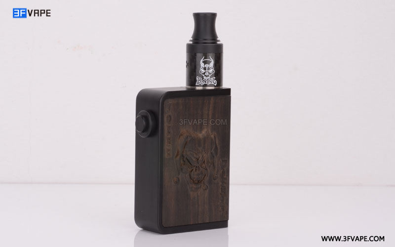 Delight Joker Ebony Wooden Mechanical Box Mod