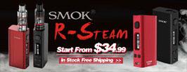 SMOKTECH SMOK R-STEAM MINI 80W TC BOX MOD - 3FVAPE
