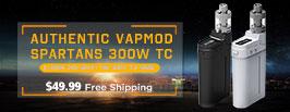 AUTHENTIC VAPMOD SPARTANS 300W TC - 3FVAPE