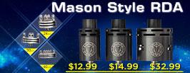 Mason Style RDA - 3FVAPE