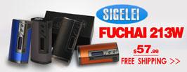 Sigelei Fuchai 213W Box Mod - 3FVAPE