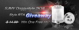 SJMY Doggy style RTA  Giveaway - 3FVAPE