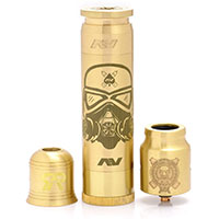Stormtrooper AV Able Style Mechanical Mod Kit With Complyfe Battle Style RDA