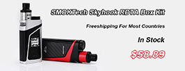 Authentic SMOKTech Skyhook RDTA Box Kit - 3FVAPE
