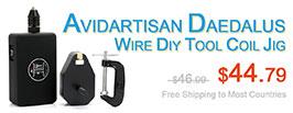 Authentic Avidartisan Daedalus Clapton Wire DIY Tool Coil Jig - 3FVAPE