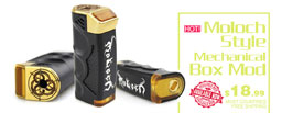 Moloch Style Mechanical Box Mod - 3FVape