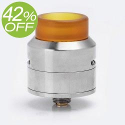 Authentic 528 Custom GOON LP RDA - Silver