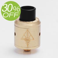 Authentic 528 Custom Goon 22mm RDA - Brass