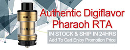 Authentic Digiflavor Pharaoh RTA - 3FVAPE