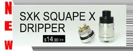SXK Squape X Dripper Style RDA- 3FVAPE