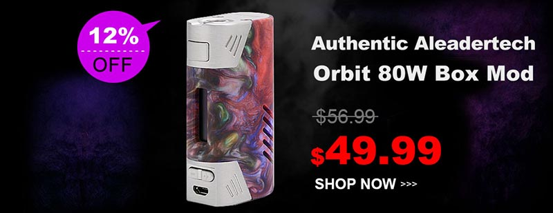 Aleadertech Orbit 80W Box Mod