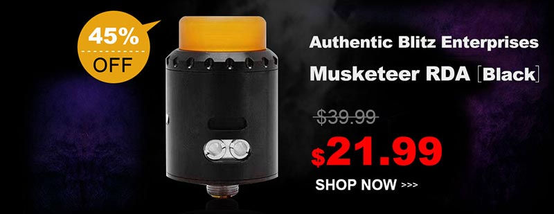 Authentic Blitz Enterprises Musketeer RDA Black