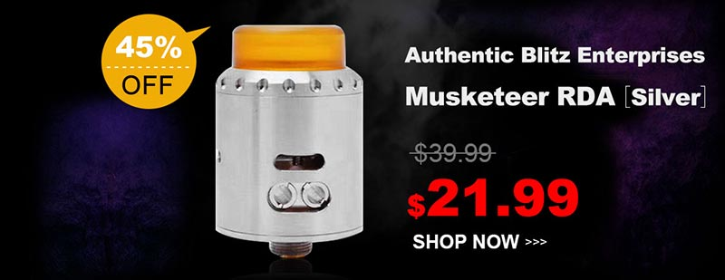 Authentic Blitz Enterprises Musketeer RDA Silver