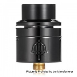 Authentic Hellvape Trishul RDA