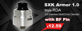 SXK Armor 1.0 Style RDA - 3FVape