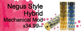 Negus Style Hybrid Mechanical Mod - 3FVape