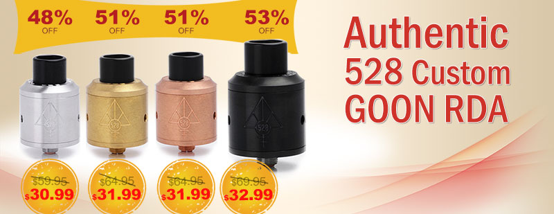 Authentic 528 Custome Goon RDA