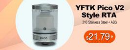 YFTK Pico V2 Style RTA- 3FVAPE